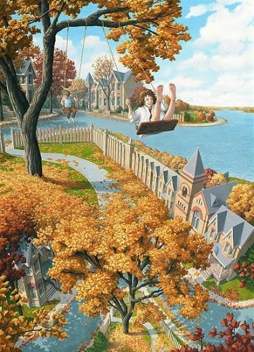 Картины Роберта Гонсалвеса On the Upswing